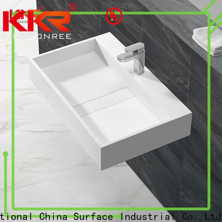 KingKonree small wall sink customized for hotel