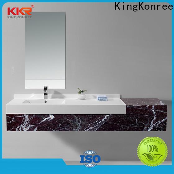 professional modular basin cabinet manufacturer for hotel