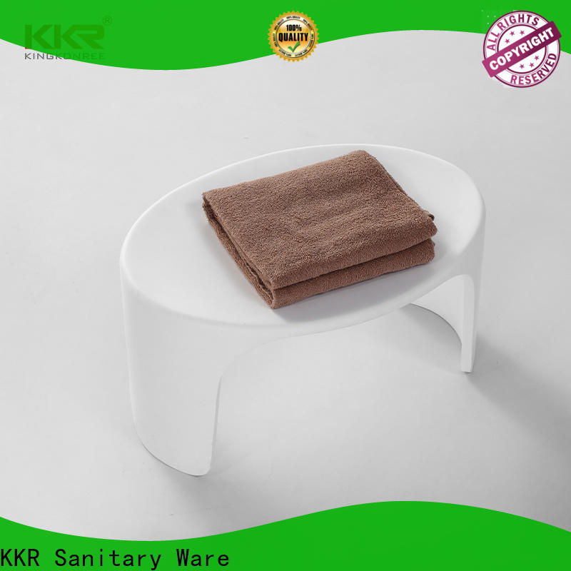 KingKonree small small corner shower stool manufacturer for hotel