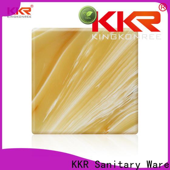 KingKonree wholesale acrylic sheets OEM for motel