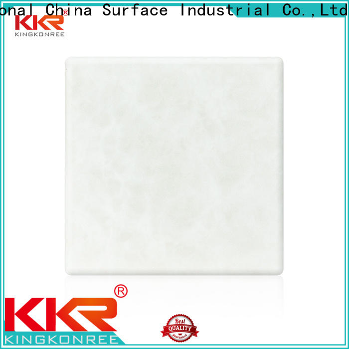 royal acrylic solid surface countertops under-mount for motel