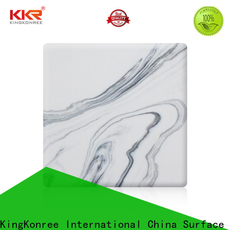 pure acrylic solid surface customized for indoors