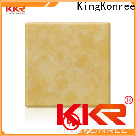 yellow translucent countertops supplier for home