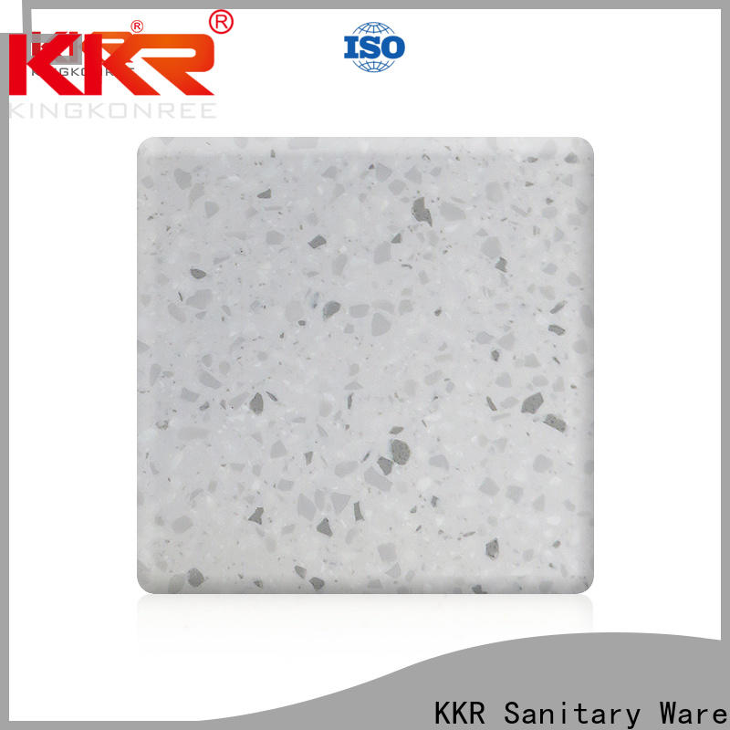 soild solid surface countertop material manufacturer for room