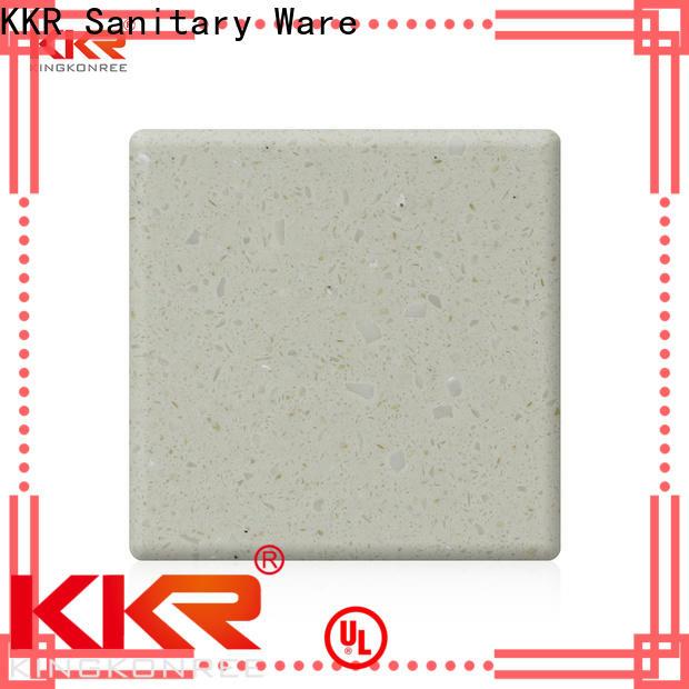 KingKonree pure acrylic worktops customized for room