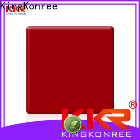 KingKonree durable solid surface countertops cost customized for home