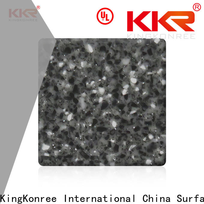 KingKonree white solid surface countertops design for room
