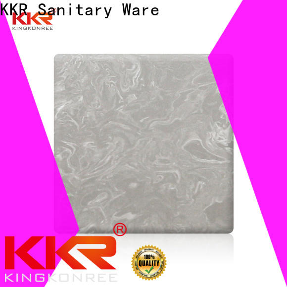 KingKonree modified solid surface sheets manufacturer for home