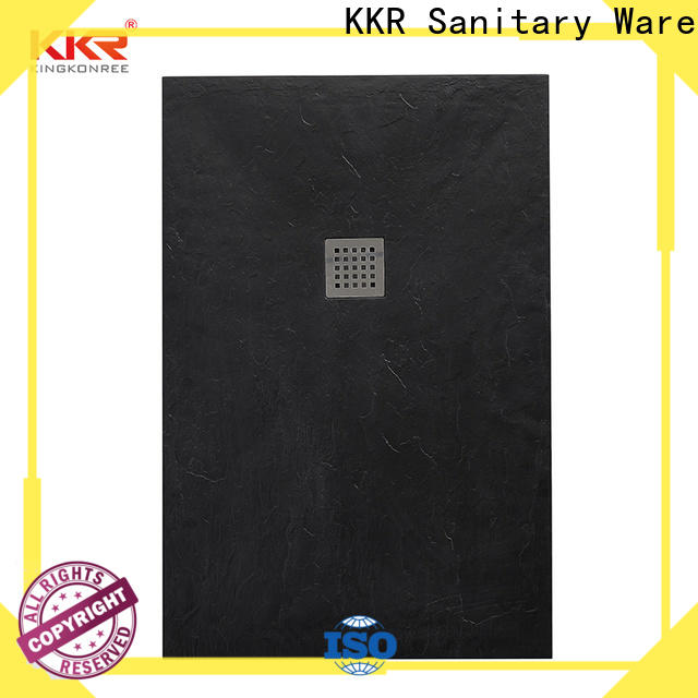 KingKonree circle shower cubicles with tray supplier for bathroom