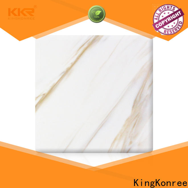 KingKonree quality solid surface sheets for sale series for indoors