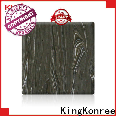 KingKonree acrylic solid surface sheet directly sale for room