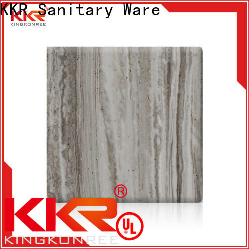 KingKonree artificial acrylic solid surface series for hotel