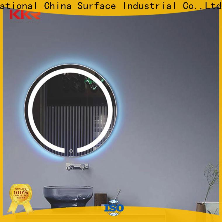 KingKonree large vanity mirror high-end for toilet