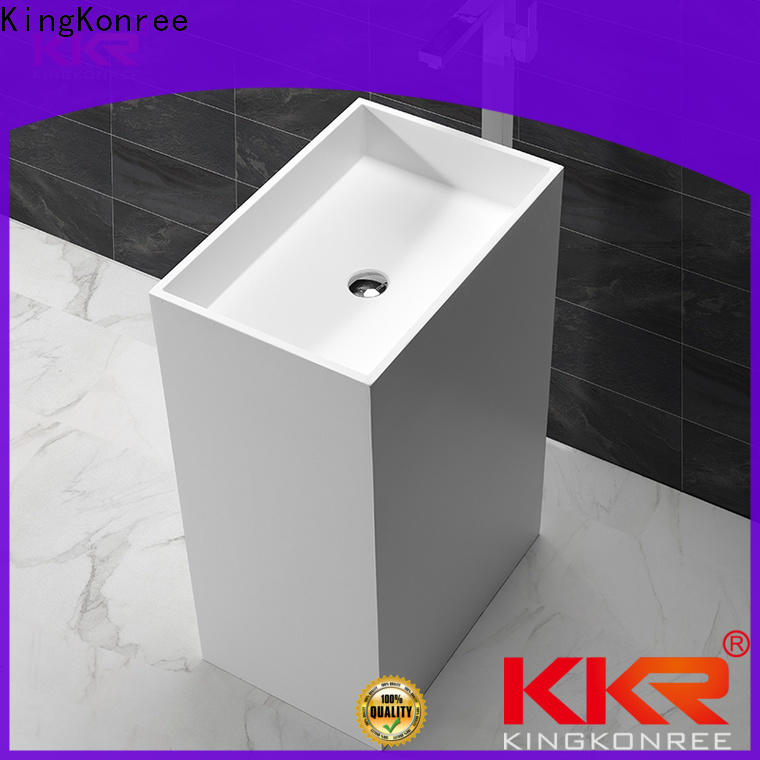 coat free standing wash basin factory price for home