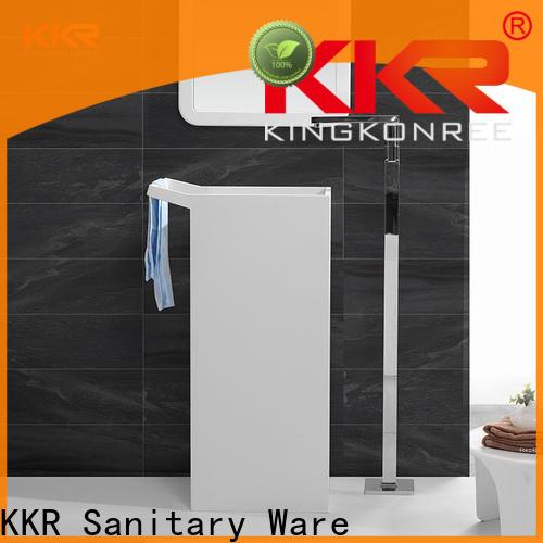 KingKonree standard pedestal wash basin supplier for hotel