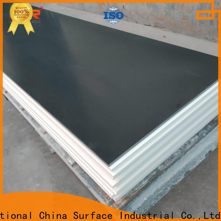 gray solid surface countertop colors with good price for home