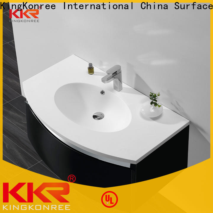 luxurious pedestal basin cabinet manufacturer for bathroom