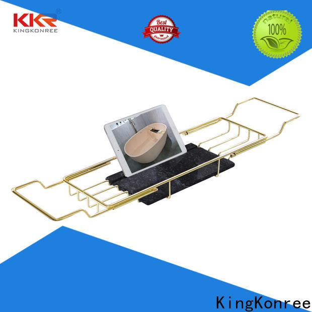KingKonree metal copper toilet roll holder manufacturer for beauty salons