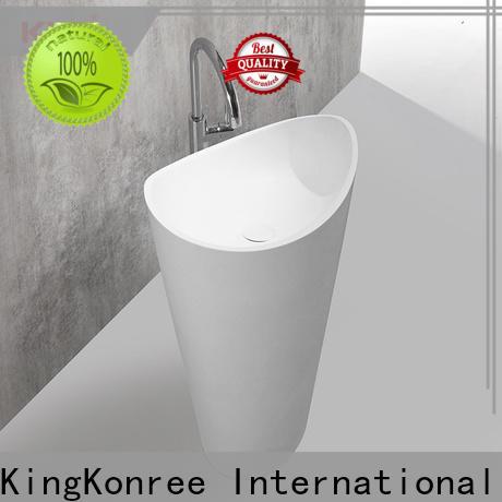 shelf free standing wash basin design for motel