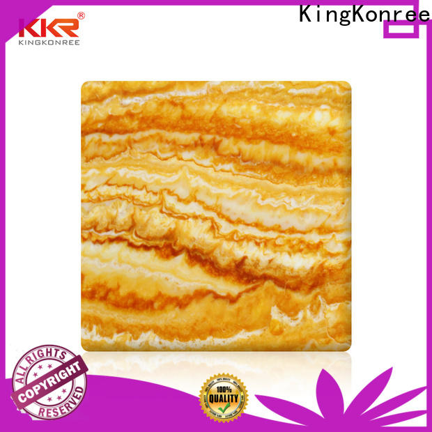 KingKonree translucent countertops OEM for home