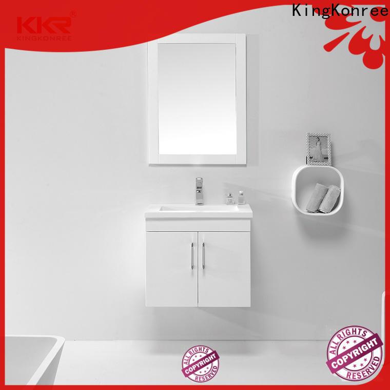 KingKonree durable countertop medicine cabinet customized for home