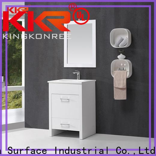KingKonree sink cabinet latest design for households