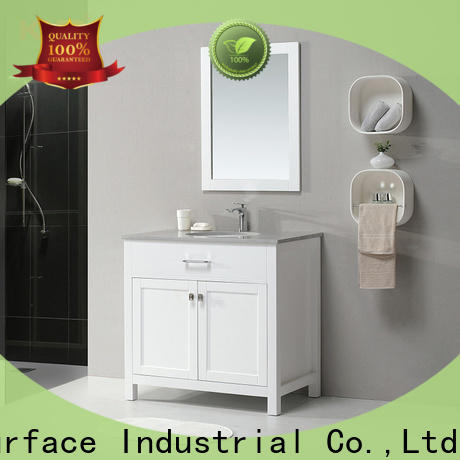 KingKonree stable basin with cabinet customized for motel