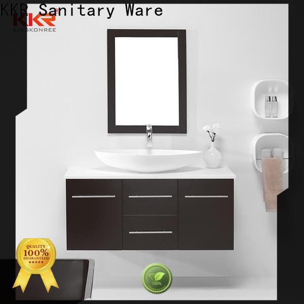 KingKonree custom vanity cabinet supplier for motel