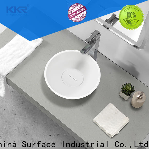 durable above counter vanity basin cheap sample for restaurant