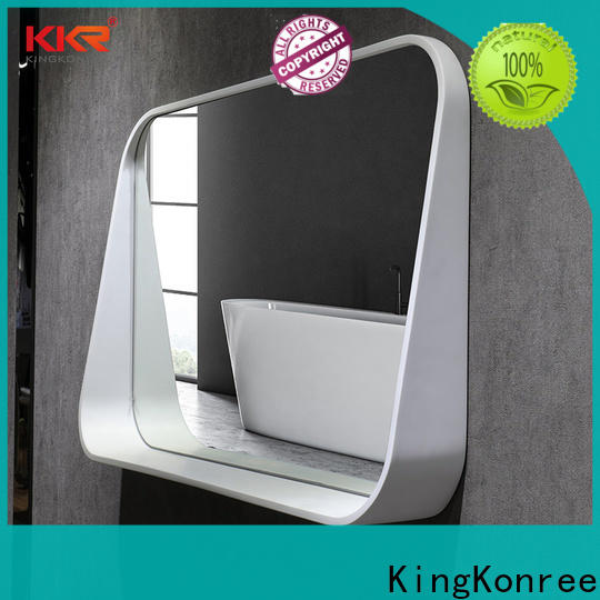 KingKonree approved unique bathroom mirrors customized design for toilet