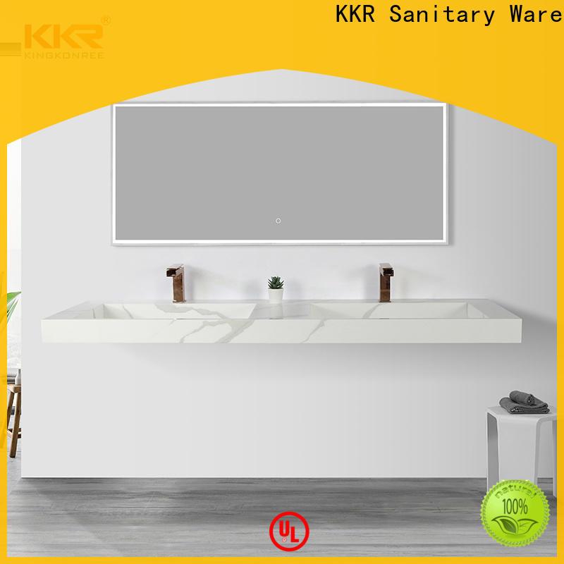 KingKonree wall hung corner sink supplier for home