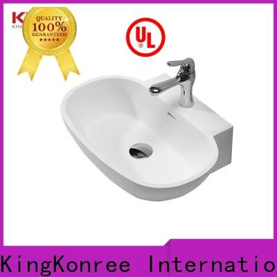 KingKonree excellent above counter vessel sink customized for hotel