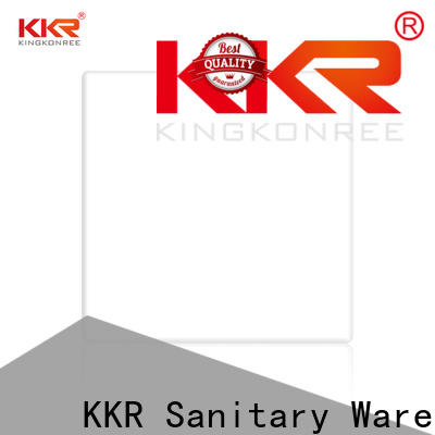 KingKonree stone white solid surface countertops factory price for room
