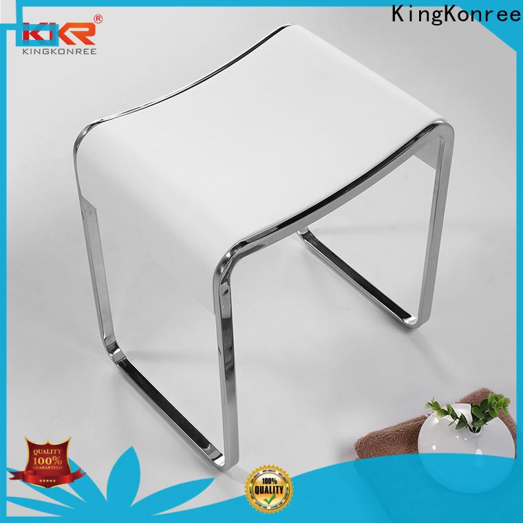 KingKonree designer shower stool design for room