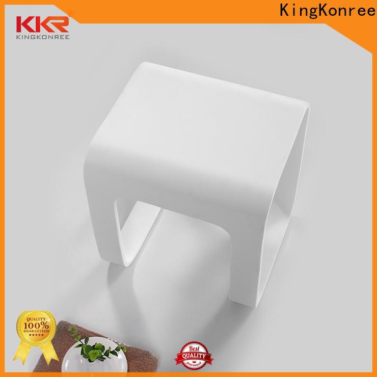 KingKonree handicap shower stool design for restaurant