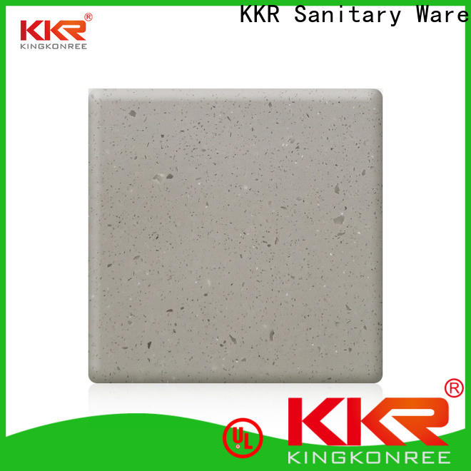 12mm acrylic solid surface sheets with good price for restaurant