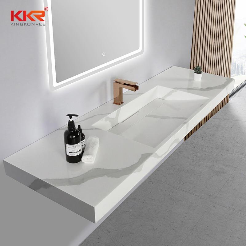 Bathroom Daily Use Hand Wash Basin New Modern Style Hotel Bathroom Wall Basin Customized Bathroom Sink