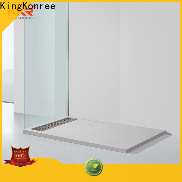 rectangle fast flow shower waste at -discount for motel