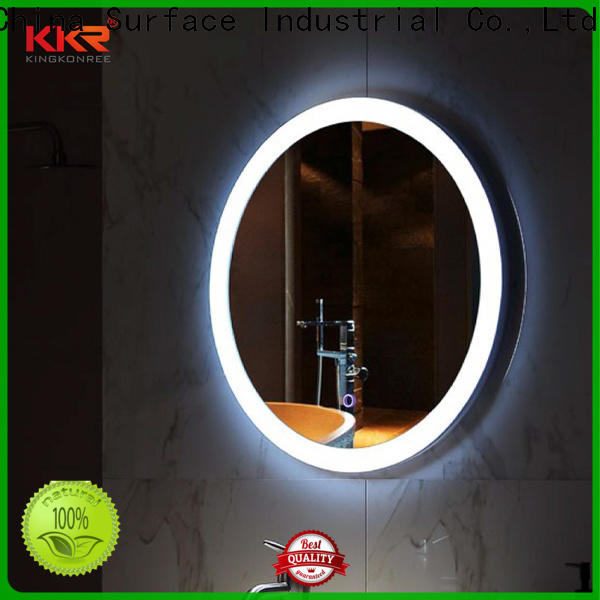 sanitary ware led mirror light high-end for hotel