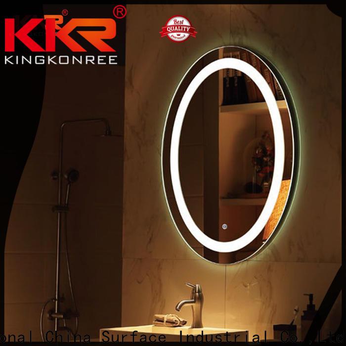 KingKonree royal unique bathroom mirrors manufacturer for toilet