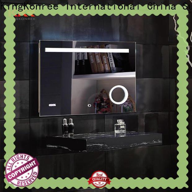 KingKonree square cool bathroom mirrors manufacturer for home