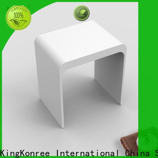 sturdy small shower stool for shaving legs factory for restaurant