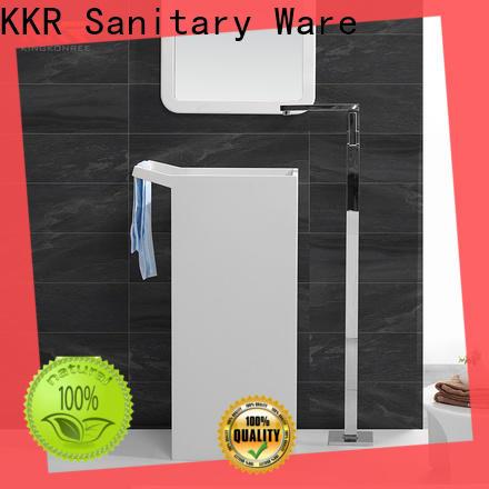 KingKonree pan shape free standing wash basin manufacturer for home