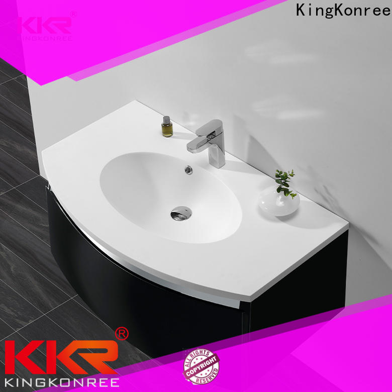 KingKonree top basin cabinet sinks for bathroom