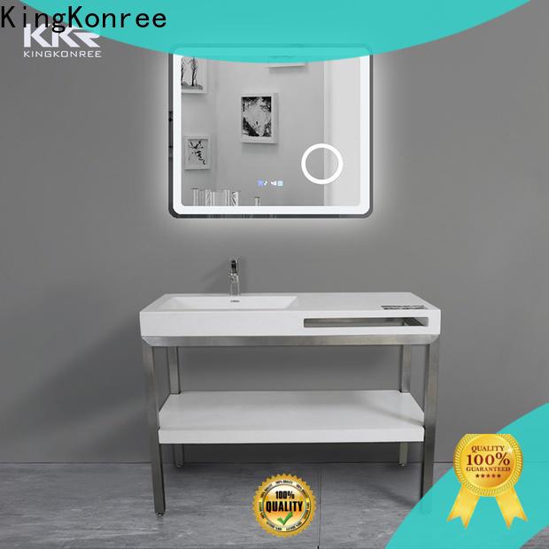 KingKonree quartz bathroom manufacturer for hotel