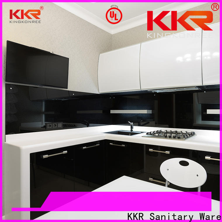 reliable solid surface worktop supplier for hotel