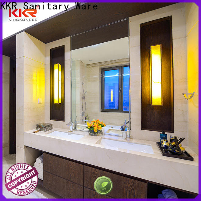 KingKonree market discount vanity tops manufacturer for hotel