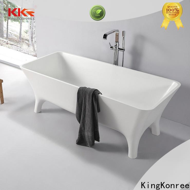 KingKonree modern soaking tub free design for shower room