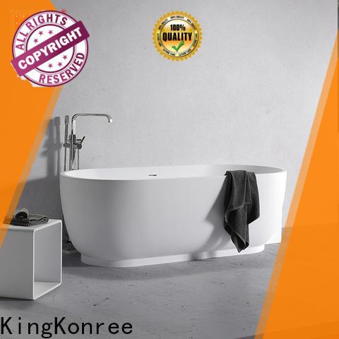 KingKonree practical freestanding bath ODM for family decoration