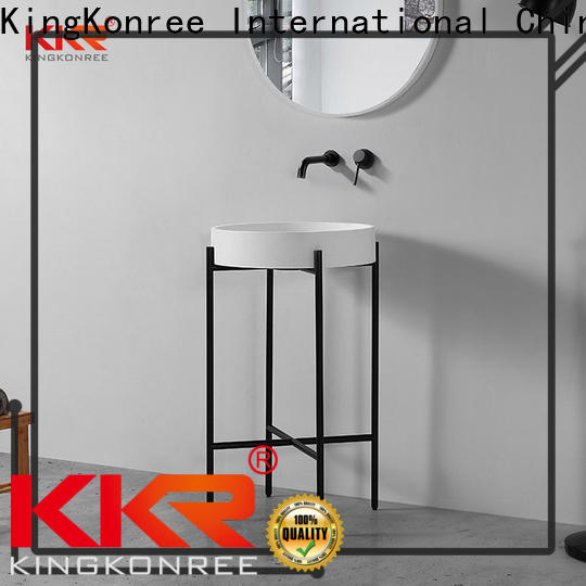 KingKonree approved top mount bathroom sink customized for home